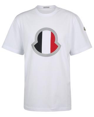 T-shirt avec logo tricolore réfléchissant MONCLER