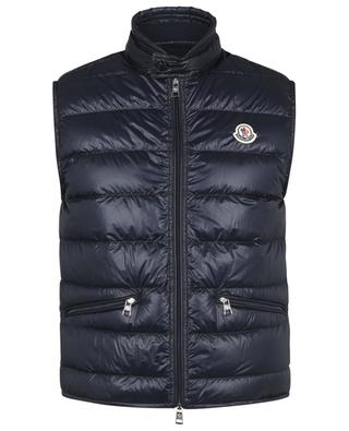 Gui glossy quilted vest MONCLER