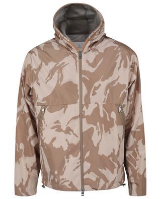 Chardon camouflage print hooded jacket MONCLER