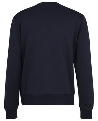 Sweat-shirt à col rond et logo brodé oversize MONCLER