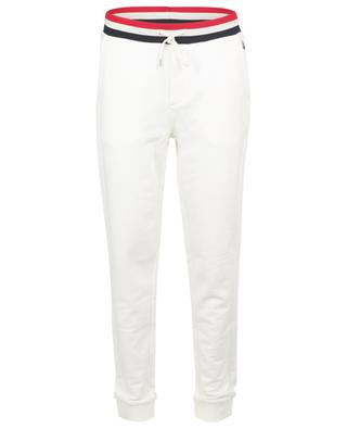 Sweat track trousers with tricolour waistband MONCLER