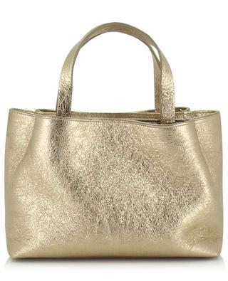 Inga mini tote bag in metallic leather FABIANA FILIPPI
