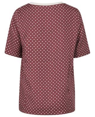 Breezy polka dot twill T-shirt FABIANA FILIPPI