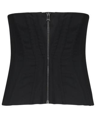 Top corset en laine DOLCE & GABBANA