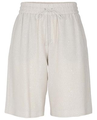 Sequined bouclé shorts FABIANA FILIPPI