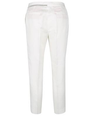 Pantalon capri slim en lin et viscose Deruta FABIANA FILIPPI