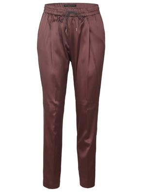 Pantalon jogging fit en satin Spello FABIANA FILIPPI