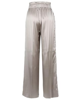 Pantalon large en satin de soie FABIANA FILIPPI