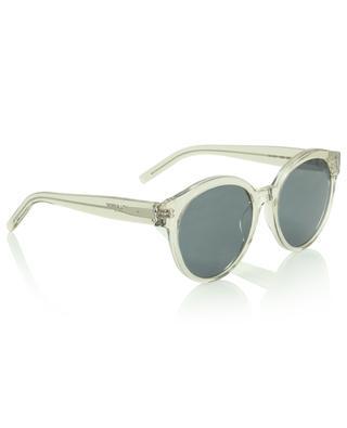 Large round full-frame sunglasses SAINT LAURENT PARIS