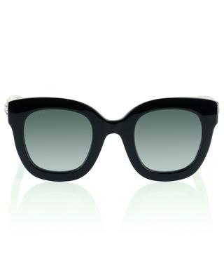 Eckige Wayfarer-Sonnenbrille mit Sternen und GG-Logo GUCCI