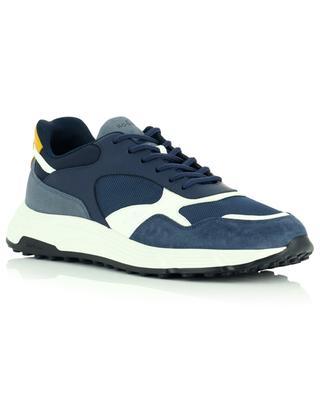 Materialmix-Sneakers in Blautönen Hogan Hyperlight HOGAN
