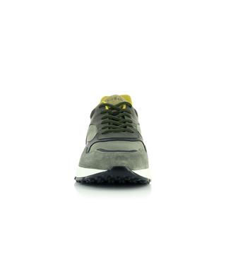 Hogan Hyperlight multi material sneakers in khaki shades HOGAN
