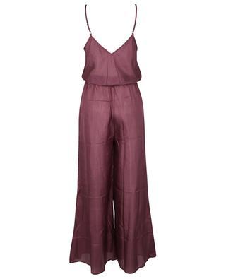 Boukhara silk strappy jumpsuit MES DEMOISELLES
