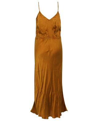 Passionata long satin strappy dress MES DEMOISELLES