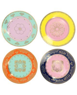 Grandpa set of four porcelain plates POLS POTTEN