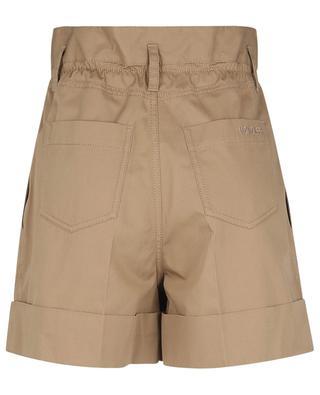 Paperbag waist gabardine shorts MONCLER