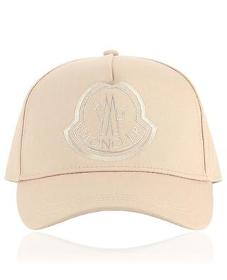 Canvas cap with rooster logo embroidery MONCLER