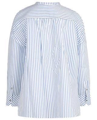 Francesca silk and cotton striped shirt HANA SAN