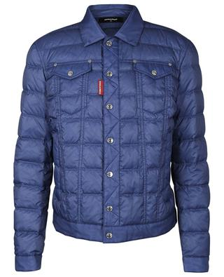 Short quilted down jacket DSQUARED2