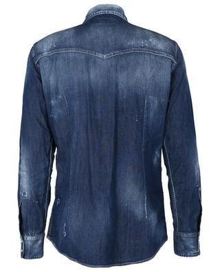 Skater long-sleeve demin shirt DSQUARED2