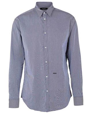 Cotton vichy square shirt DSQUARED2