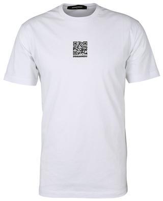 Cotton QR code T-shirt DSQUARED2