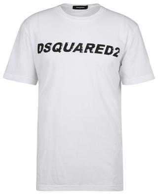 T-Shirt manches courtes en coton imprimé logo Cool Fit DSQUARED2