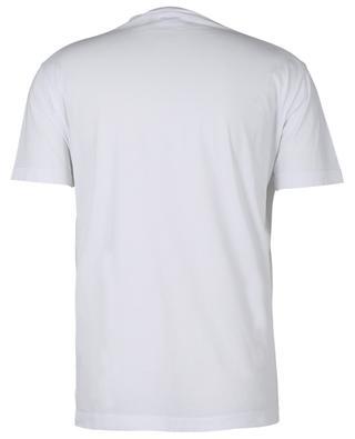 T-Shirt aus Baumwolle mit Logo und Ahornblatt DSQUARED2