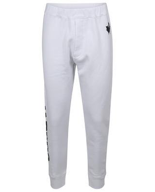 Ski Fit logo printed sweat trousers DSQUARED2