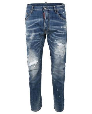 Tidy Biker distressed slim jeans DSQUARED2