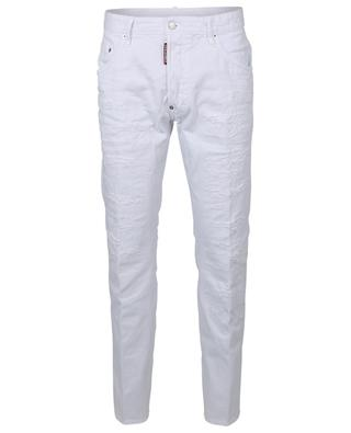 Skater distressed cotton jeans DSQUARED2