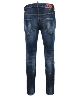 Skater distressed cotton-blend jeans DSQUARED2