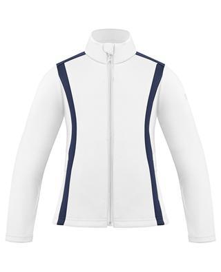 Veste de sport à coutures collées POIVRE BLANC