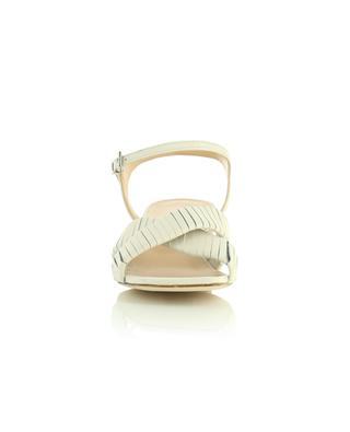 Sandales en cuir à bout et talon carré 50 BONGENIE GRIEDER