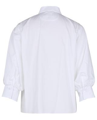 Chemise en popeline à manches bouffantes trois-quarts LE SARTE PETTEGOLE