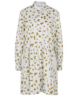Robe chemise ample en popeline motifs animaliers LE SARTE PETTEGOLE