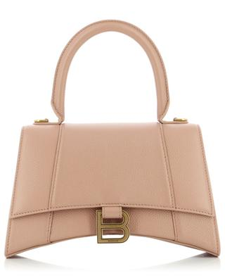 Hourglass Small handbag in grained calf leather BALENCIAGA