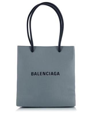 Sac cabas en cuir texturé Shopping XXS North South BALENCIAGA
