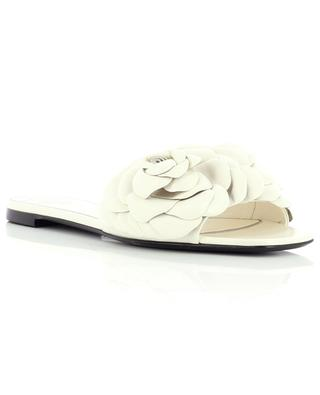Atelier 03 Rose Edition 05 flat nappa leather mules VALENTINO