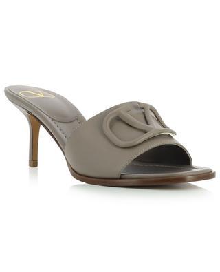 VLogo 65 heeled leather mules VALENTINO