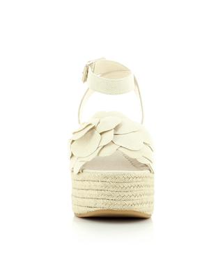 Atelier 03 Rose Edition 90 canvas wedge espadrilles VALENTINO