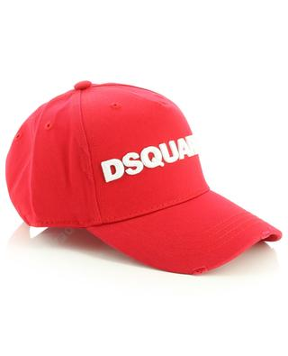 Casquette en gabardine brodée logo DSQUARED2