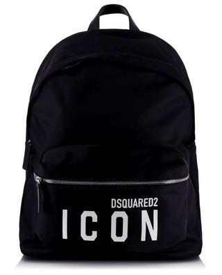 Rucksack aus Nylon mit Print Be ICON DSQUARED2