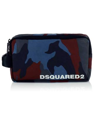 Camou printed nylon toiletry bag DSQUARED2