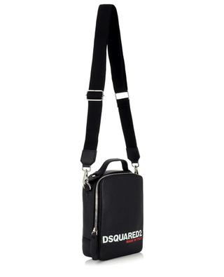 Bob small grained leather shoulder bag DSQUARED2