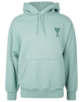 Ami de Coeur organic cotton hooded boxy sweatshirt AMI