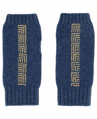 Embroidered mittens in cashmere SEP JORDAN