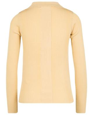 Jov fitted long-sleeved knit polo shirt REMAIN BIRGER CHRISTENSEN