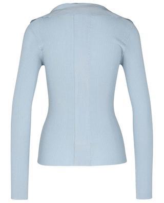 Jov long-sleeved rib knit polo shirt REMAIN BIRGER CHRISTENSEN