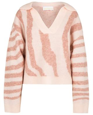 Cami Polo animal pattern boxy jumper REMAIN BIRGER CHRISTENSEN